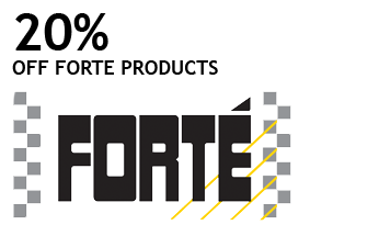 20% off Forte Products